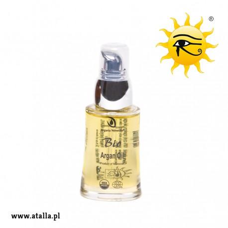 Bio Olej arganowy kosmetyczny 100% – 30 ml - Butelka szklana